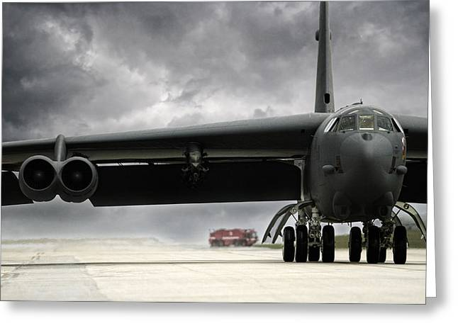 Stormfront B-52 Greeting Card by Peter Chilelli