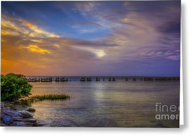 Storms Rolling In Greeting Card by Marvin Spates