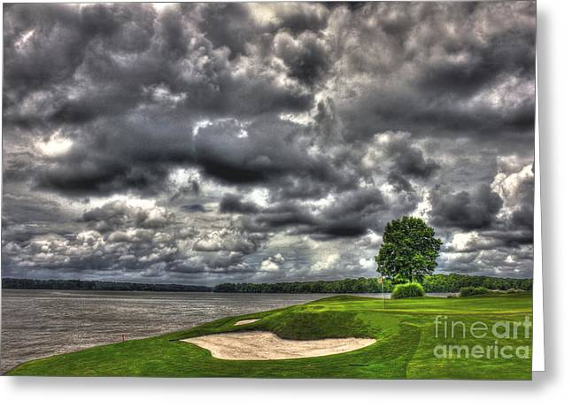 Beautiful Landing Greeting Cards - Stormy Number 4 Greeting Card by Reid Callaway