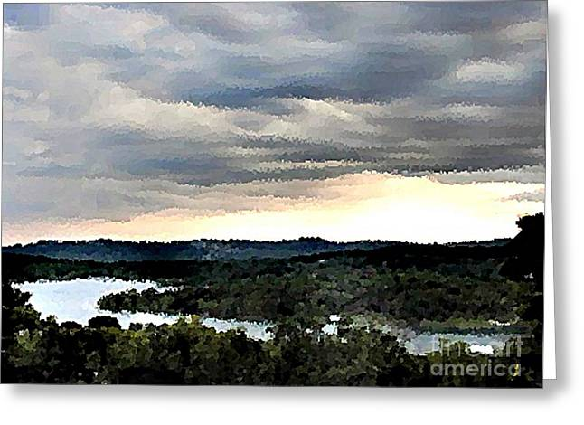 Branson Mo Greeting Cards - Stormy Greeting Card by Pics by Jody Adams