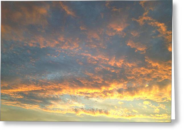 Gloaming Greeting Cards - Stormy Skies 18 Greeting Card by Robert Pierce