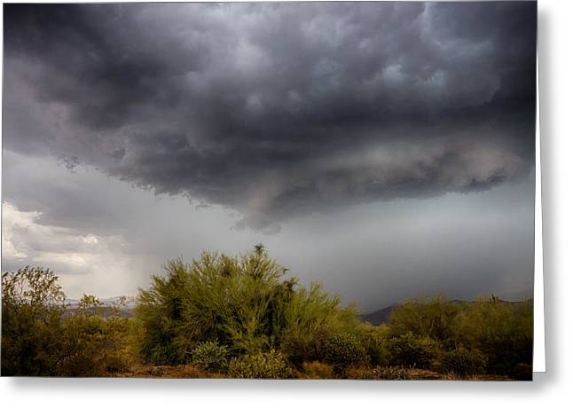 Storm Chasing Greeting Cards - Stormy Skies Ahead  Greeting Card by Saija  Lehtonen