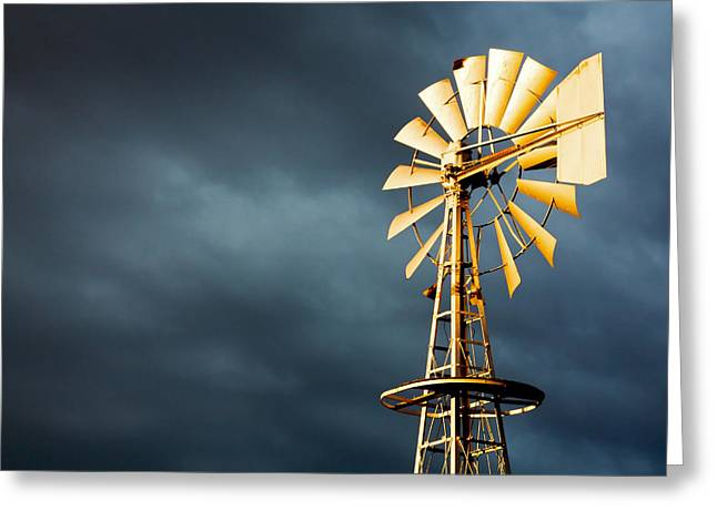 Stormy Skies Greeting Card by Todd Klassy