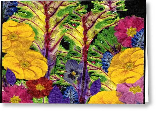 Story Book Forest Greeting Card by Kathie McCurdy