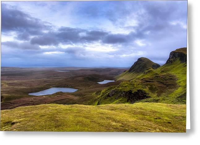 Storybook Beauty Of The Isle Of Skye Greeting Card by Mark E Tisdale