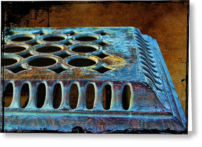 Grate Digital Greeting Cards - Stove Top Greeting Card by Sylvia Thornton