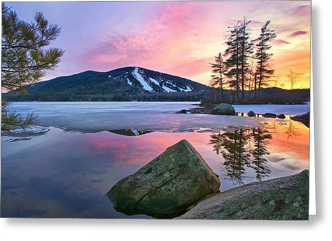 St.patty's Day Sunset Greeting Card by Darylann Leonard Photography