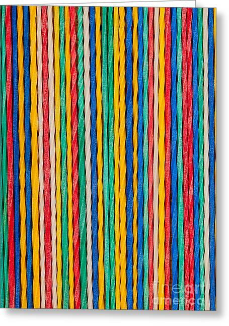 String Sculptures Greeting Cards - Straight Greeting Card by Shawn Hempel