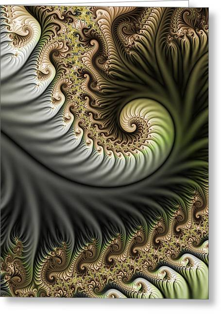Bold Style Greeting Cards - Strange World Greeting Card by Gabiw Art