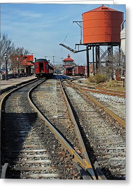 Train Rides Greeting Cards - Strasburg Station Greeting Card by Skip Willits