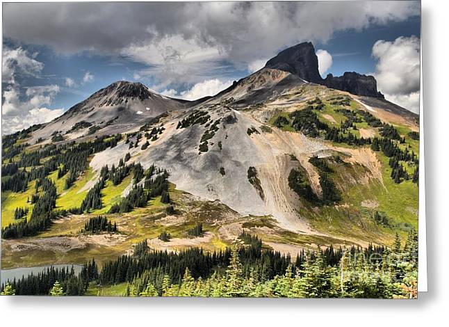 Provincial Park Bc Greeting Cards - Stratovolcano At Garibaldi Provincial Park Greeting Card by Adam Jewell