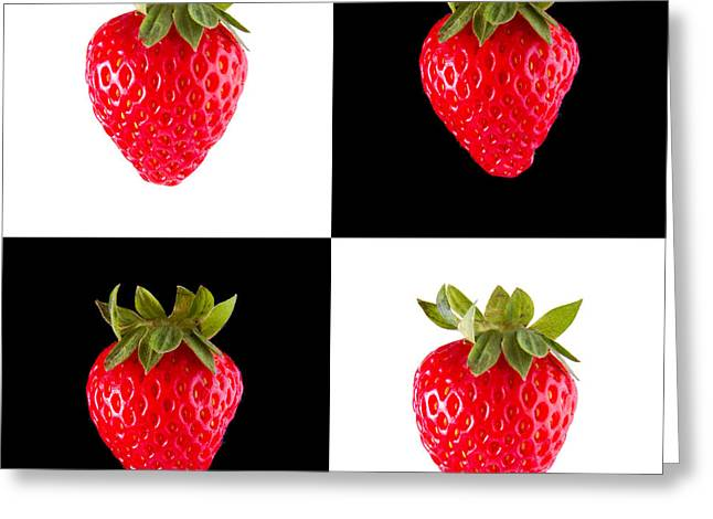 Bryan Freeman Greeting Cards - Strawberries Greeting Card by Bryan Freeman