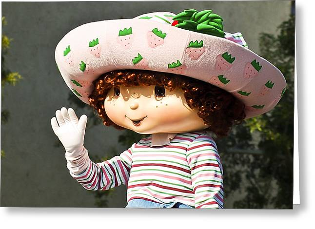 Strawberry Shortcake Greeting Card by Jon Berghoff