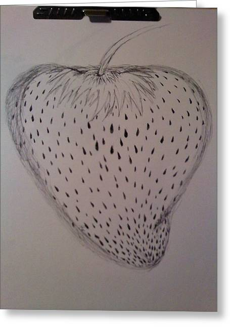 Thommy Mccorkle Greeting Cards - Strawberry Greeting Card by Thommy McCorkle