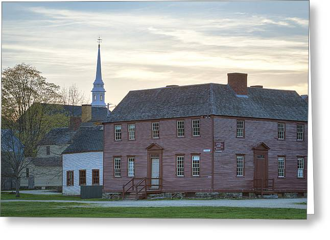 Canon 5d Mark Ii Greeting Cards - Strawbery Banke Greeting Card by Eric Gendron