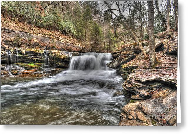Stream Near Thurmond Wv Greeting Card by Dan Friend