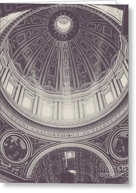 Baldacchino Greeting Cards - Streams of Light Greeting Card by Christina Klausen