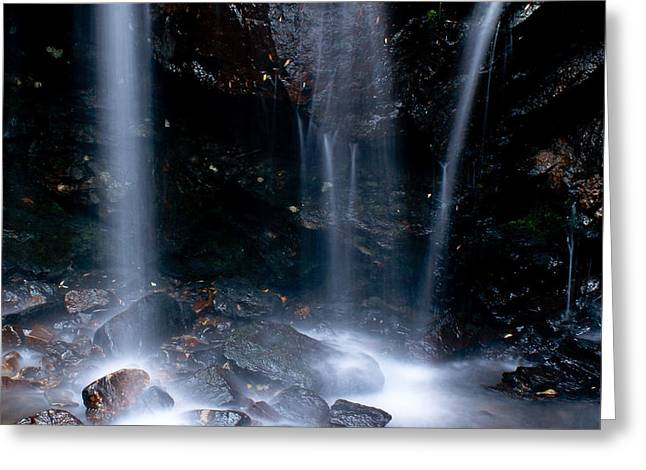 Exposure Greeting Cards - Streams of Light Greeting Card by Steven Reed