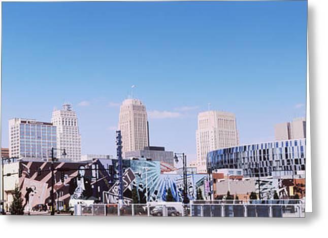 Kansas City Greeting Cards - Street Art At Jazz District, Kansas Greeting Card by Panoramic Images