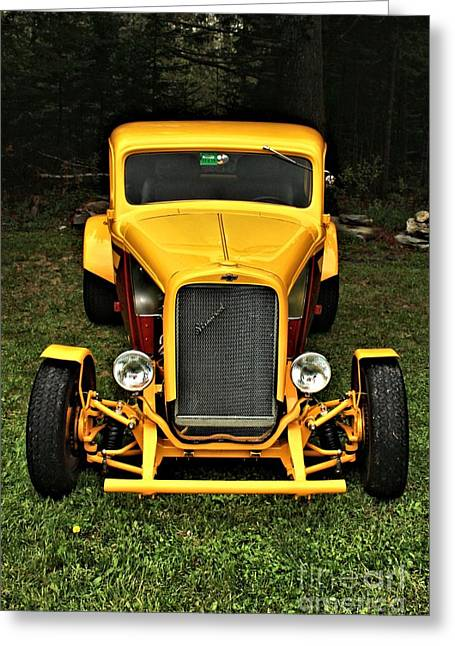Ford Model T Car Greeting Cards - Street Rod 0011 Greeting Card by Joseph Marquis