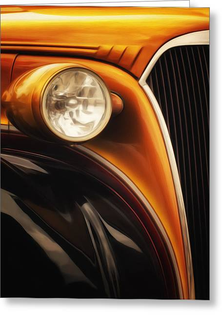 Warp Speed Greeting Cards - Street Rod 3 Greeting Card by Jack Zulli
