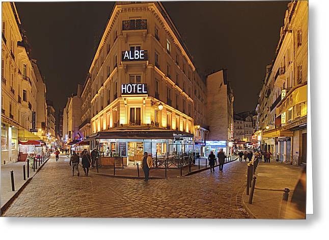 Street Scenes - Paris France - 011328 Greeting Card by DC Photographer
