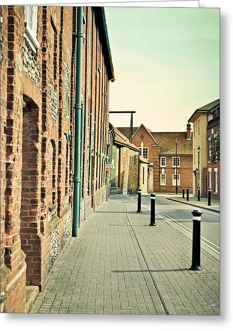 Street  Greeting Card by Tom Gowanlock