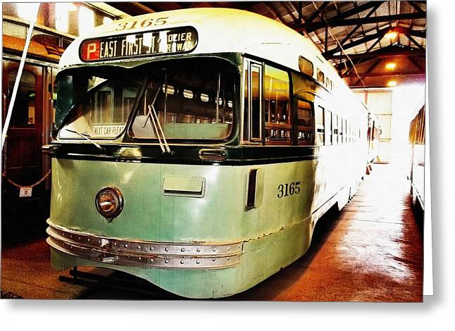 Pcc Greeting Cards - Streetcar 3165 Greeting Card by Glenn McCarthy Art and Photography