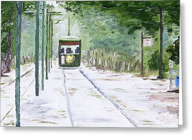 Kevin Croitz Greeting Cards - Streetcar Named Desire Greeting Card by Kevin Croitz