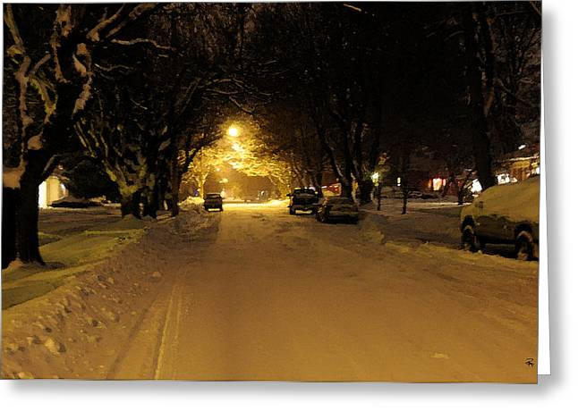 Streetlight Greeting Cards - Streetlight Greeting Card by Randolph Fritz
