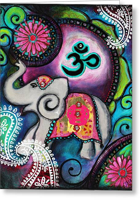 Strength Along The Path Greeting Card by Tara Catalano