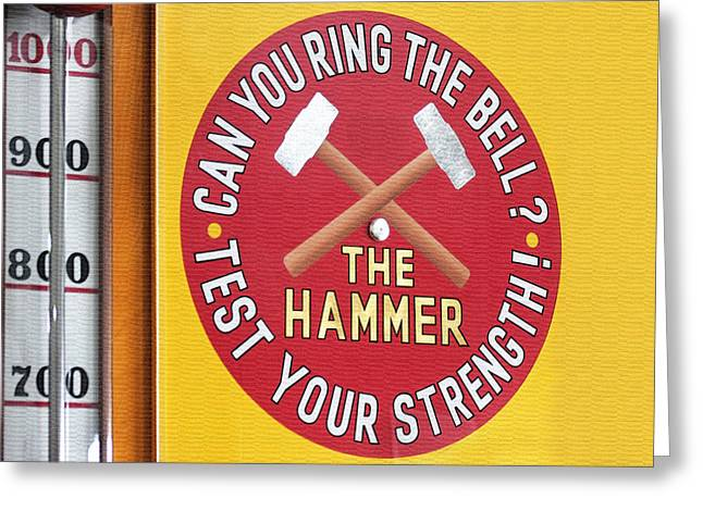 Yellow Hammer Greeting Cards - Strength Greeting Card by Art Block Collections