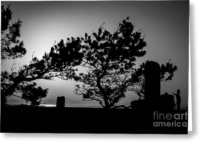 Human Tree Greeting Cards - Stretch Greeting Card by Dean Harte