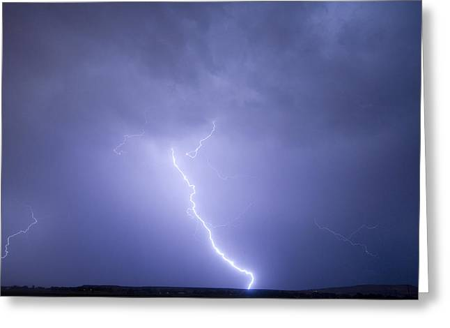 Lightning Photographer Greeting Cards - Striking Distance Greeting Card by James BO  Insogna