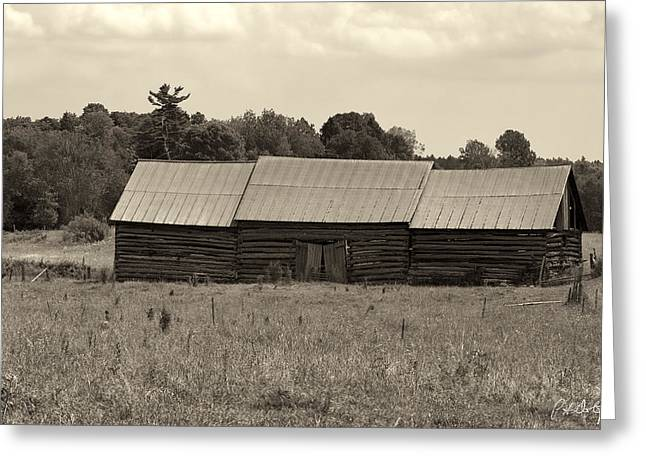 Barn Digital Art Greeting Cards - String Barns Greeting Card by Phill  Doherty