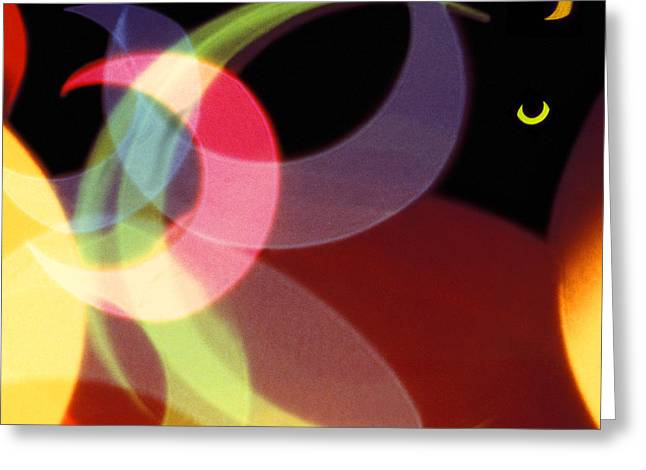 String Of Lights 1 Greeting Card by Mike McGlothlen