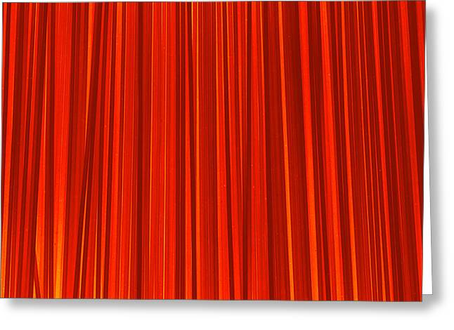 Striped Background Greeting Card by Chevy Fleet