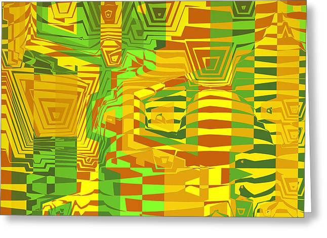 Herb Briley Greeting Cards - Camouflage Greeting Card by Herb Briley