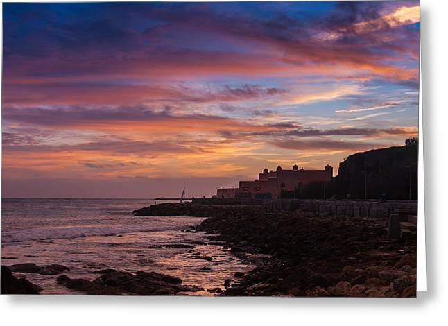 Skyclouds Greeting Cards - Strokes Of Sunset II Greeting Card by Marco Oliveira
