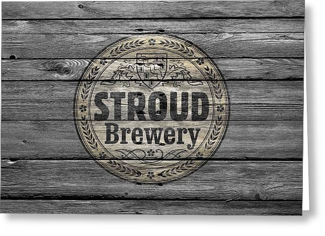 Saloons Greeting Cards - Stroud Brewing Greeting Card by Joe Hamilton
