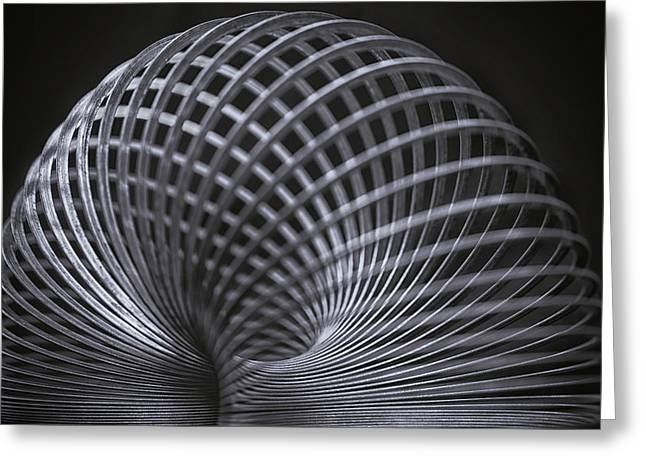 Harmonic Motions Greeting Cards - Structure Greeting Card by Larry Helms