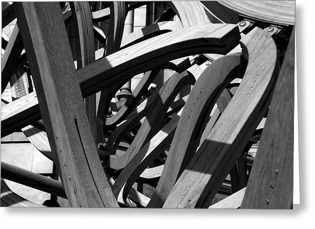 Structure Greeting Card by Tom Gallahue