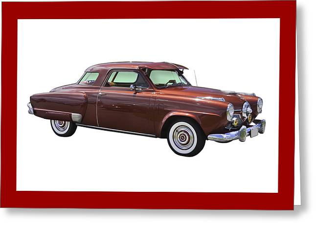 Studebaker Greeting Cards - Studebaker Champian Antique Car Greeting Card by Keith Webber Jr