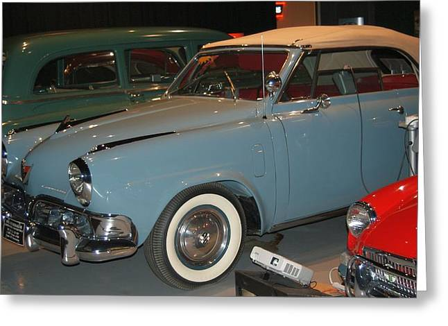 Black Top Greeting Cards - Studebaker Greeting Card by Rob Luzier