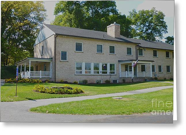 Mhs Greeting Cards - Student Home Hemlock Greeting Card by Mark Dodd