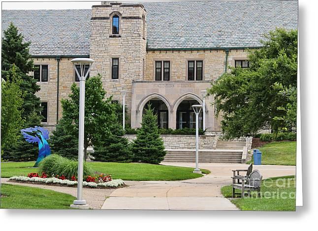 Student Union-university Of Toledo 1601 Greeting Card by Jack Schultz