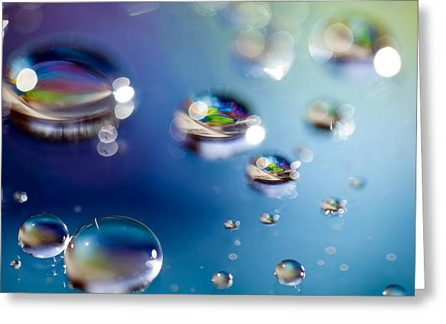 Fractal Orbs Greeting Cards - Study 158 Greeting Card by Al Hurley