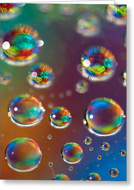 Fractal Orbs Greeting Cards - Study 160 Greeting Card by Al Hurley