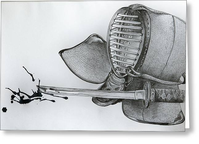 Tim Drawings Greeting Cards - Study in Graphite Greeting Card by Tim Nichols