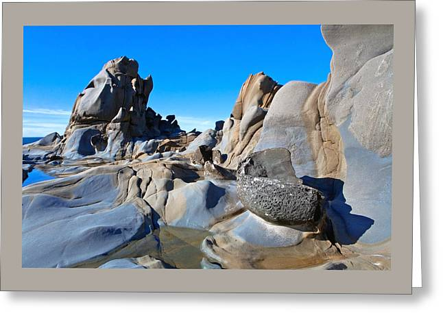 Stump Beach Greeting Card by Daniel Furon